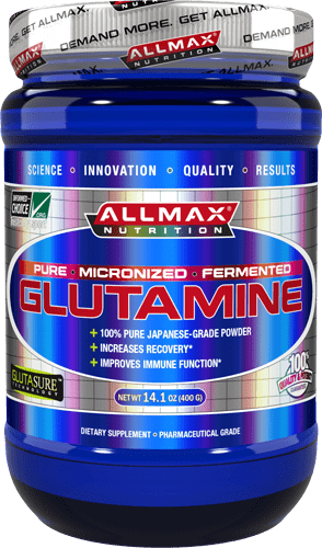 ALLMAX Nutrition Glutamine 400 - 1000 грама