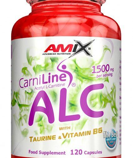 AMIX ALC with Taurin & Vitamine B6 120 Caps.