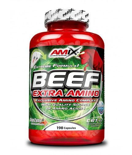 AMIX Beef Extra Amino 198 Caps