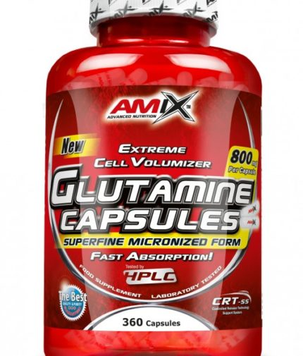 AMIX L-Glutamine 800mg. 120 Caps