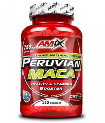 AMIX Peruvian Maca 750mg. 120 Caps.