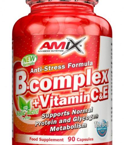 AMIX Vitamin B-Complex + Vitamin C & E 90 Tabs