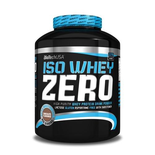 BIOTECH USA Iso Whey ZERO 2.270 кг.
